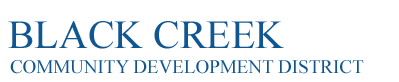 Black Creek Community Development District Logo